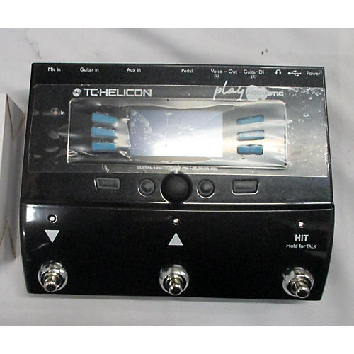 TC Helicon PLAY ACOUSTIC Effect Pedal