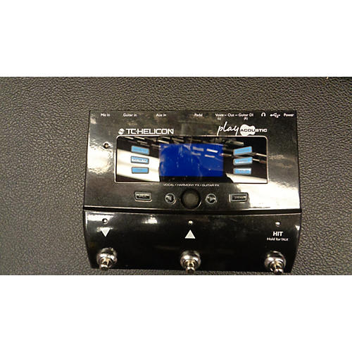 TC Helicon PLAY ACOUSTIC Effect Processor