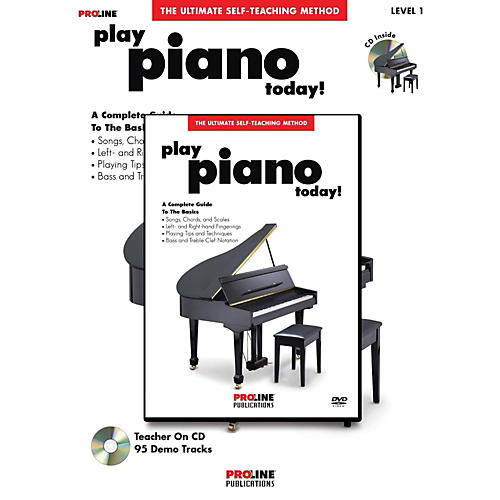 ProLine PLAY PIANO TODAY METHOD BOOK W/CD & DVD