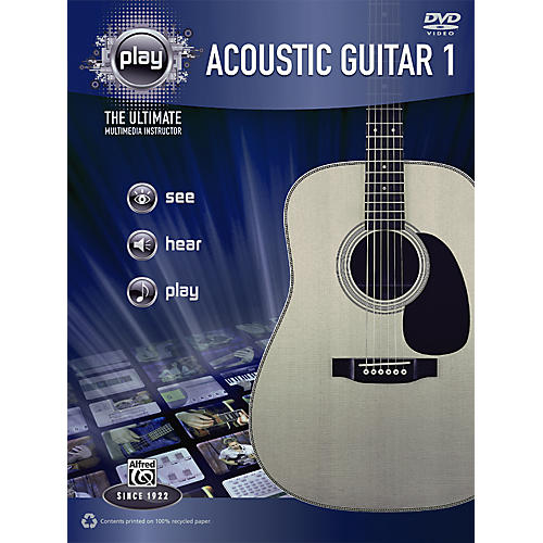 Alfred PLAY Series  Acoustic Guitar 1 Book & DVD