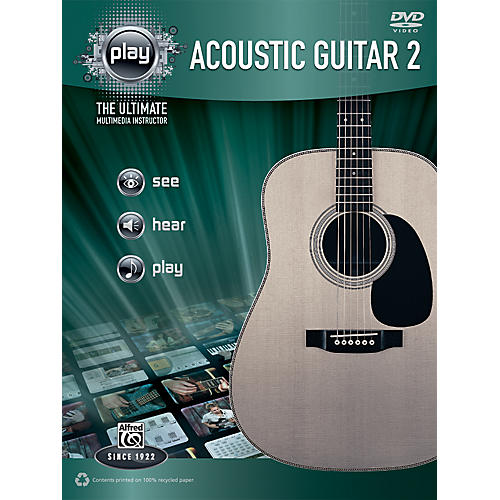 Alfred PLAY Series  Acoustic Guitar 2 Book & DVD-thumbnail