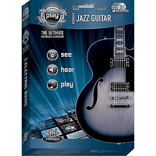 Alfred PLAY Series  Beginning Jazz Guitar CD-ROM