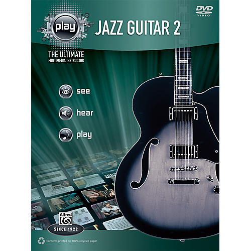 Alfred PLAY Series  Jazz Guitar 2 Book & DVD-thumbnail