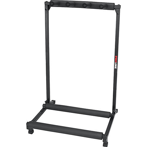ProLine PLMS3 3-Guitar Folding Stand Black