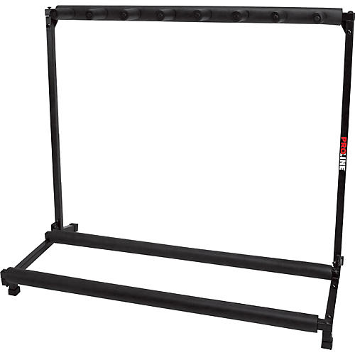 ProLine PLMS7 7-Guitar Folding Stand Black