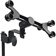 PLUTM Universal Tablet Mount with Stand Attachment Black Universal