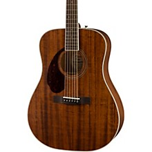 Fender PM-1 Dreadnought All-Mahogany Left-Handed Acoustic Guitar