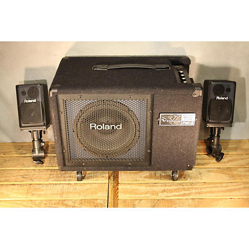 used roland pm03 drum amplifier guitar center. Black Bedroom Furniture Sets. Home Design Ideas
