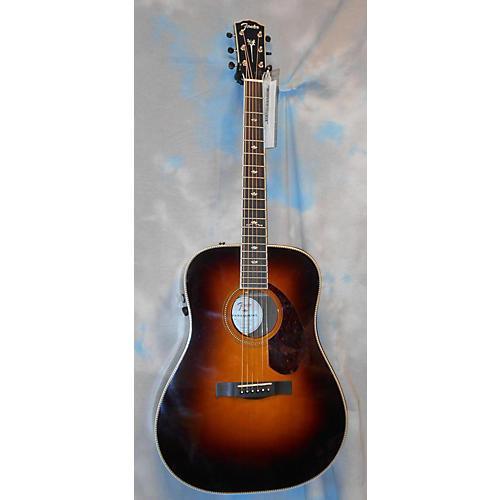 used fender pm1 deluxe acoustic electric guitar guitar center. Black Bedroom Furniture Sets. Home Design Ideas
