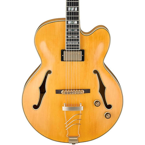Ibanez PM2 Pat Metheny Signature Hollowbody Electric Guitar - Antique Amber-thumbnail