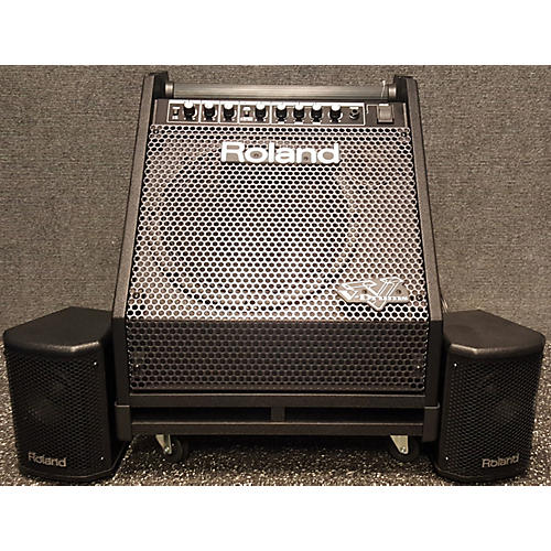 used roland pm30 drum amplifier guitar center. Black Bedroom Furniture Sets. Home Design Ideas