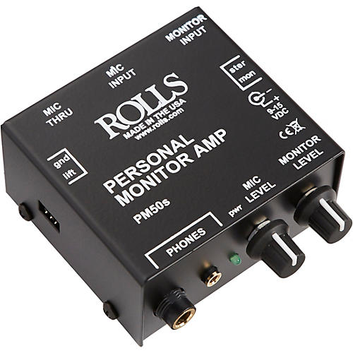 Rolls PM50S Personal Monitor Amp-thumbnail