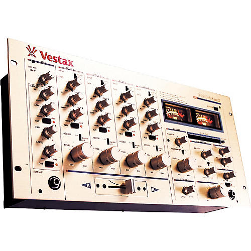 Vestax PMC-46 MKII 5 Channel DJ Rotary House Mixer-thumbnail