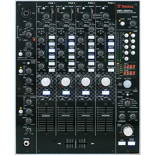 Vestax PMC-580Pro 4-Channel Digital DJ mixer