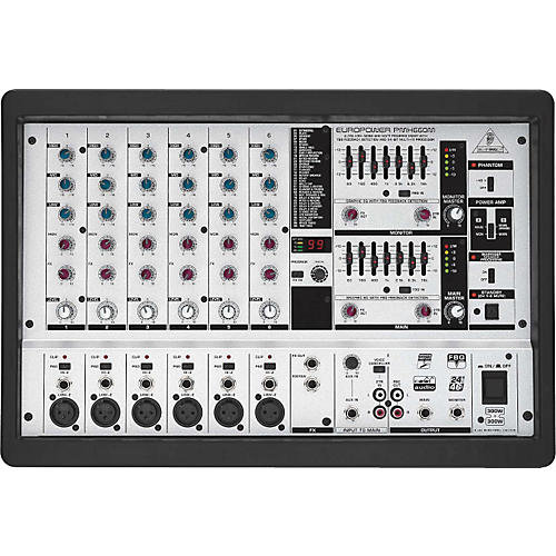 Behringer PMH660M Europower Powered Mixer