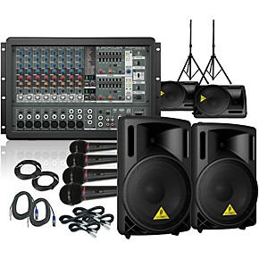 behringer pmp1680s b212xl mains and monitors pa package guitar center. Black Bedroom Furniture Sets. Home Design Ideas
