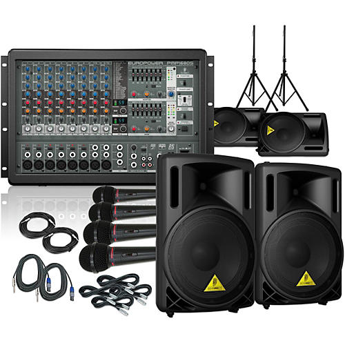 Behringer PMP1680S / B212XL Mains and Monitors PA Package-thumbnail