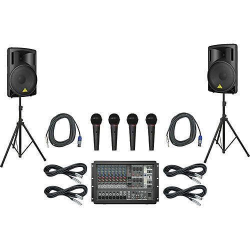 Behringer PMP1680S / B215XL PA Package