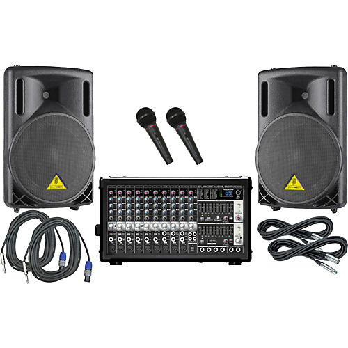 Behringer PMP2000/B212XL PA Package