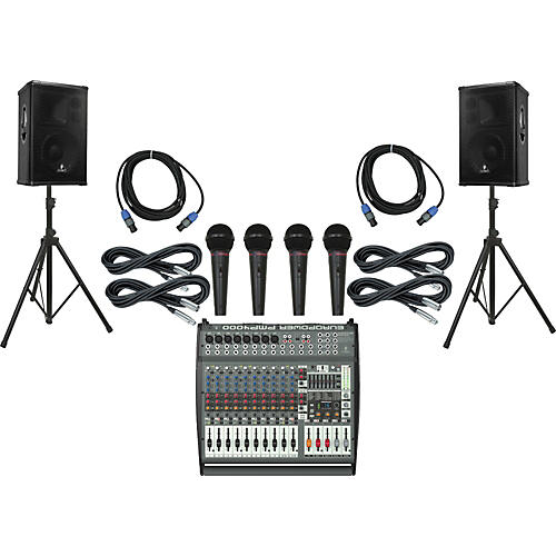 Behringer PMP4000 / B1220 Pro PA Package