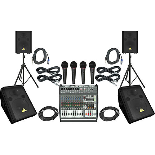 Behringer PMP4000 / VS1220 / VS1220F PA Package
