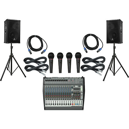 Behringer PMP6000 / B1220 Pro PA Package