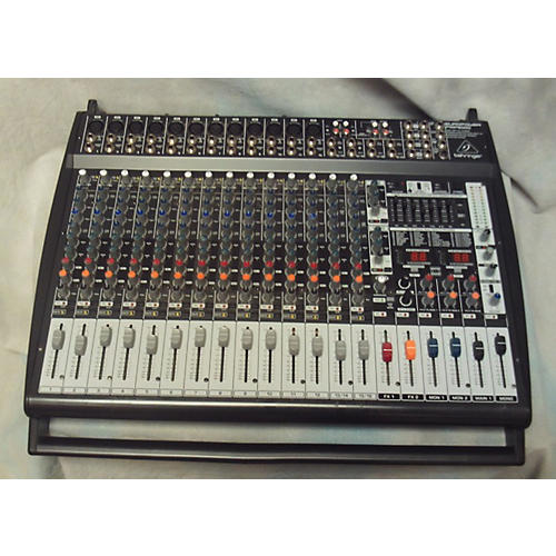 used behringer pmp6000 powered mixer guitar center. Black Bedroom Furniture Sets. Home Design Ideas