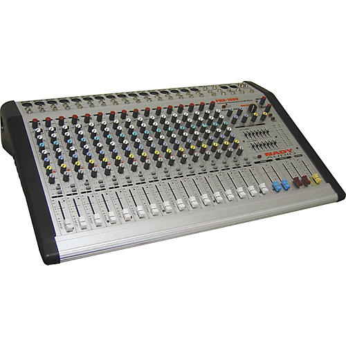 Nady PMX-1600 16 Channel/4 Bus Powered Mixer w/DSP Effects-thumbnail
