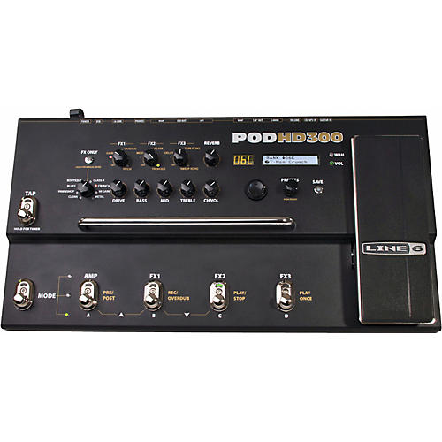 line 6 pod hd300 guitar multi effects processor guitar center. Black Bedroom Furniture Sets. Home Design Ideas