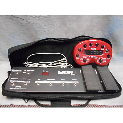 Line 6 POD WITH FLOORBOARD AND BAG Effect Pedal Package-thumbnail