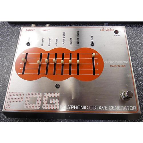 Electro-Harmonix POG FIRST GENERATION POLYPHONIC OCTAVE GENERATOR Effect Pedal