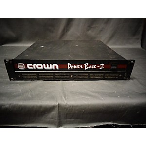 Pre-owned Crown POWER BASE-2 Power Amp by Crown