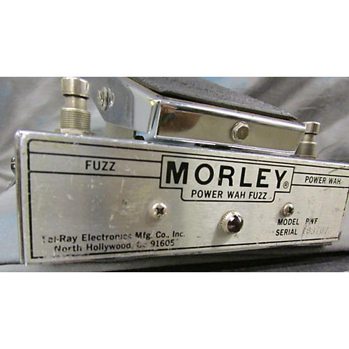 used morley power fuzz wah effect pedal guitar center. Black Bedroom Furniture Sets. Home Design Ideas