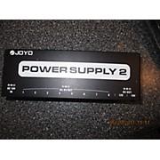 Joyo POWER SUPPLY 2 Pedal