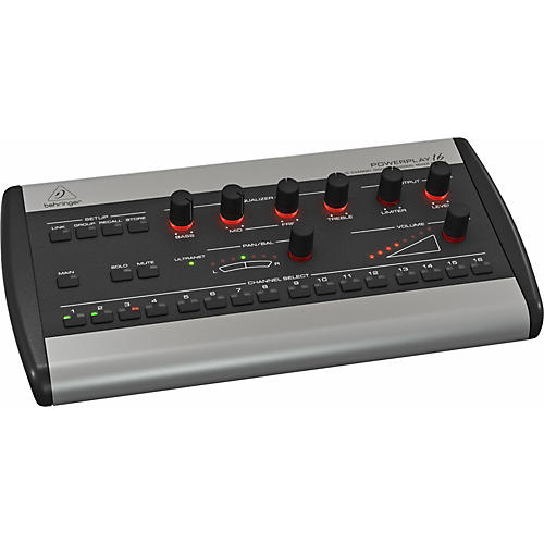 Behringer POWERPLAY P16-M 16-Channel Digital Personal Mixer