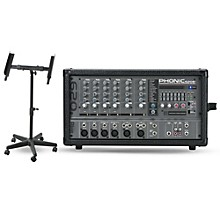 Phonic POWERPOD 620 Plus Powered Mixer & QL400 Mixer Stand Kit
