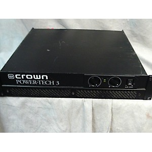 Pre-owned Crown POWERTECH 3 Power Amp by Crown