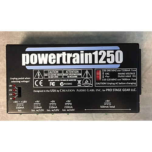 Pedaltrain POWERTRAIN 1250 POWER SUPPLY Power Conditioner