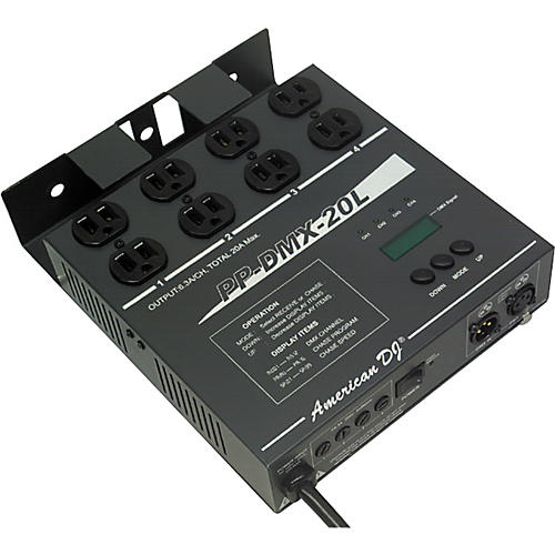 American DJ PP-DMX20L 4-Channel DMX Power Pack-thumbnail