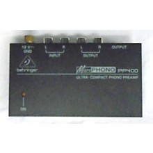 Behringer PP400 Microphone Preamp