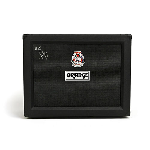 Orange Amplifiers PPC Series PPC212 Jim Root #4 Signature 2x12 120W Closed-Back Guitar Speaker Cabinet