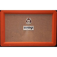Orange Amplifiers PPC212C 2x12 120W Closed Back With Celestion Creamback G12ms5 Speakers Guitar Cabinet