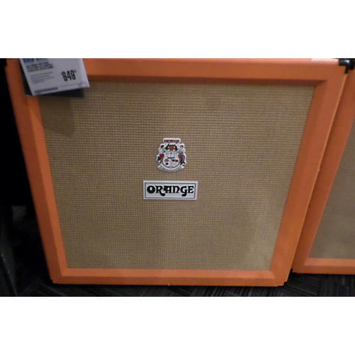 Orange Amplifiers PPC412 240W 4X12 Compact Closed Back Guitar Cabinet-thumbnail
