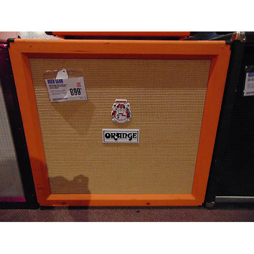 Orange Amplifiers PPC412 240W 4x12 Straight Guitar Cabinet-thumbnail