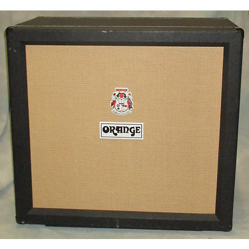 Orange Amplifiers PPC412C 4X12 16Ohm Straight Black Guitar Cabinet
