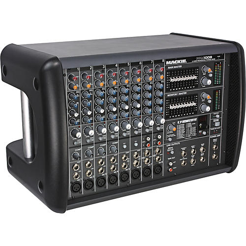 Mackie PPM1008 8-Channel 1600-Watt Powered Mixer