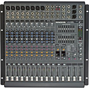 Mackie PPM1012 12-Channel 1600 Watt Powered Mixer