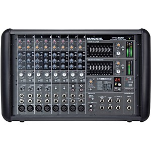 Mackie PPM608 8-Channel 1000 Watt Powered Mixer by Mackie