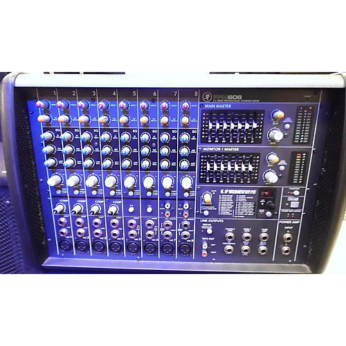 used mackie ppm608 powered mixer guitar center. Black Bedroom Furniture Sets. Home Design Ideas