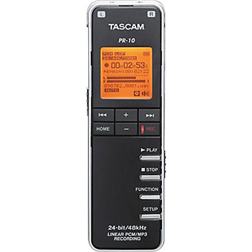 Tascam PR-10 Linear PCM Recorder